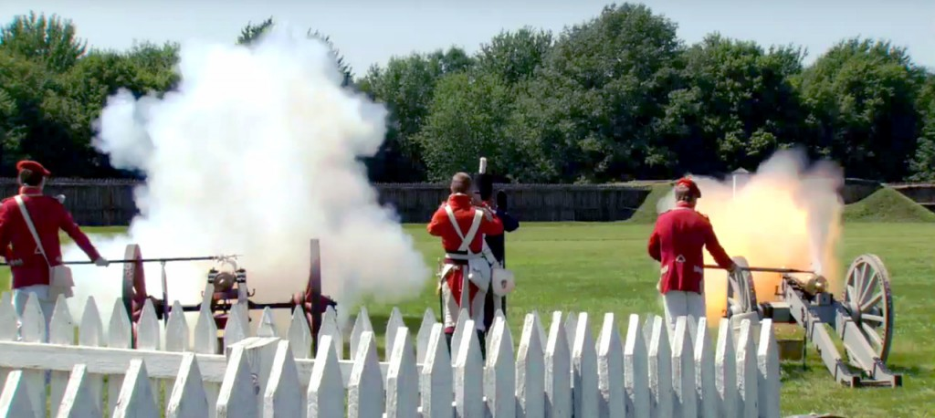 Fort George Cannonfire